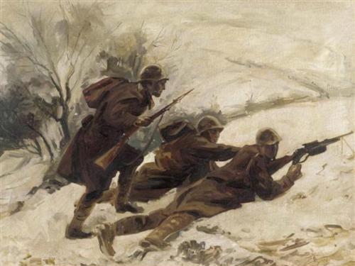 The ambush - Alekos Kontopoulos