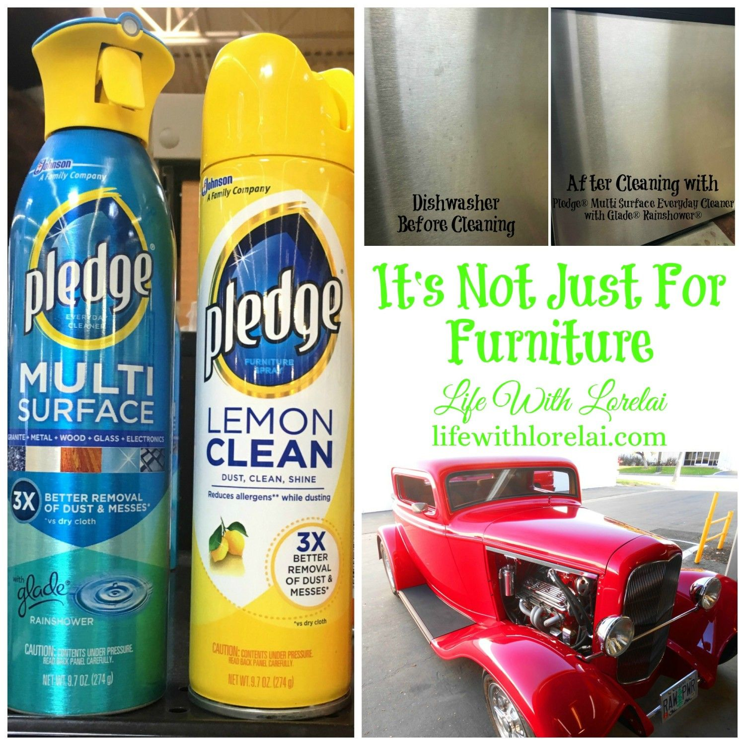 Pledge It S Not Just For Furniture Pledge Furniture Polish