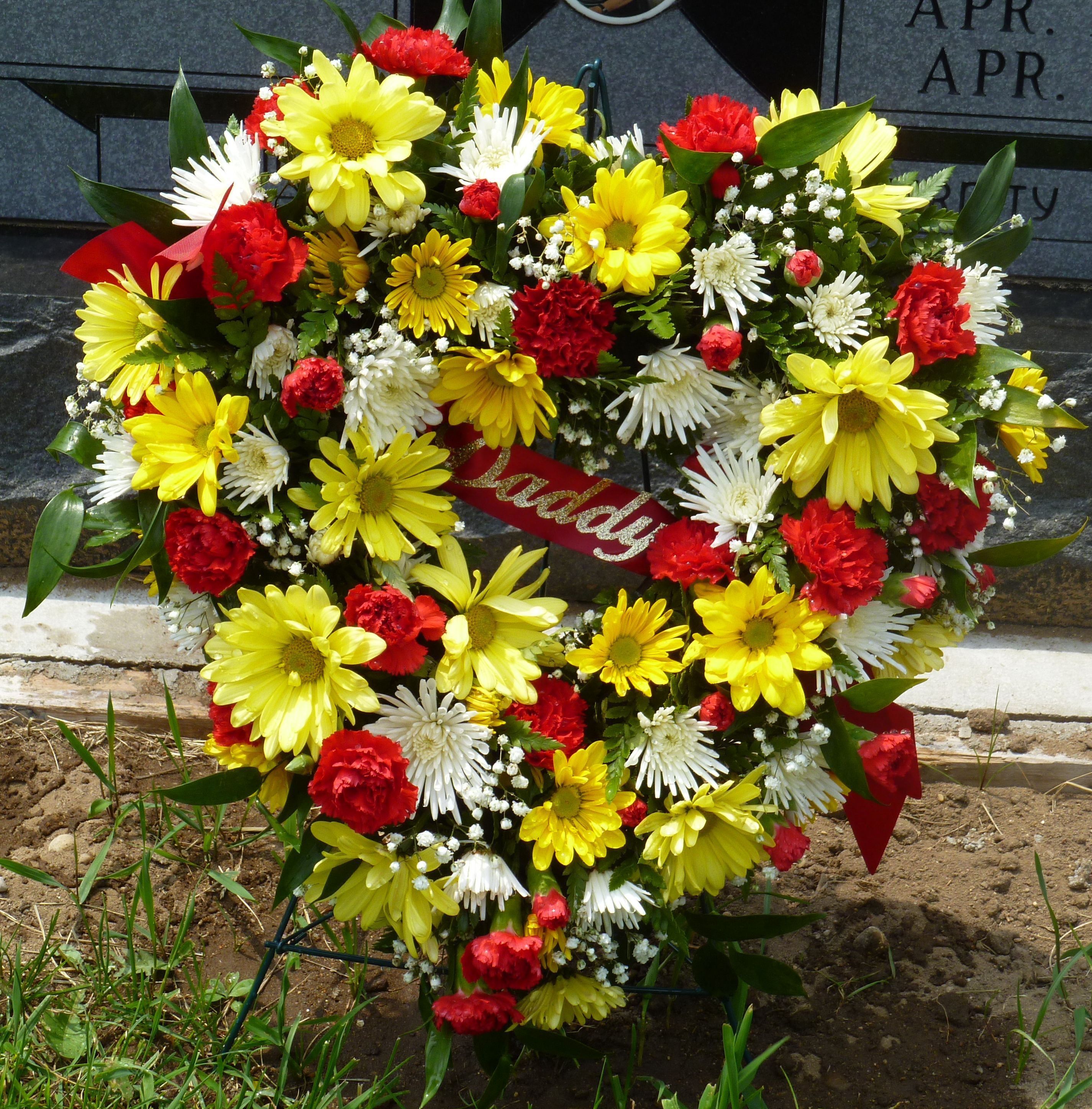 """Tombstone Saddle Frames Supply 10/"""" Grave Supplies for Headstone Cemetery Flowers"""