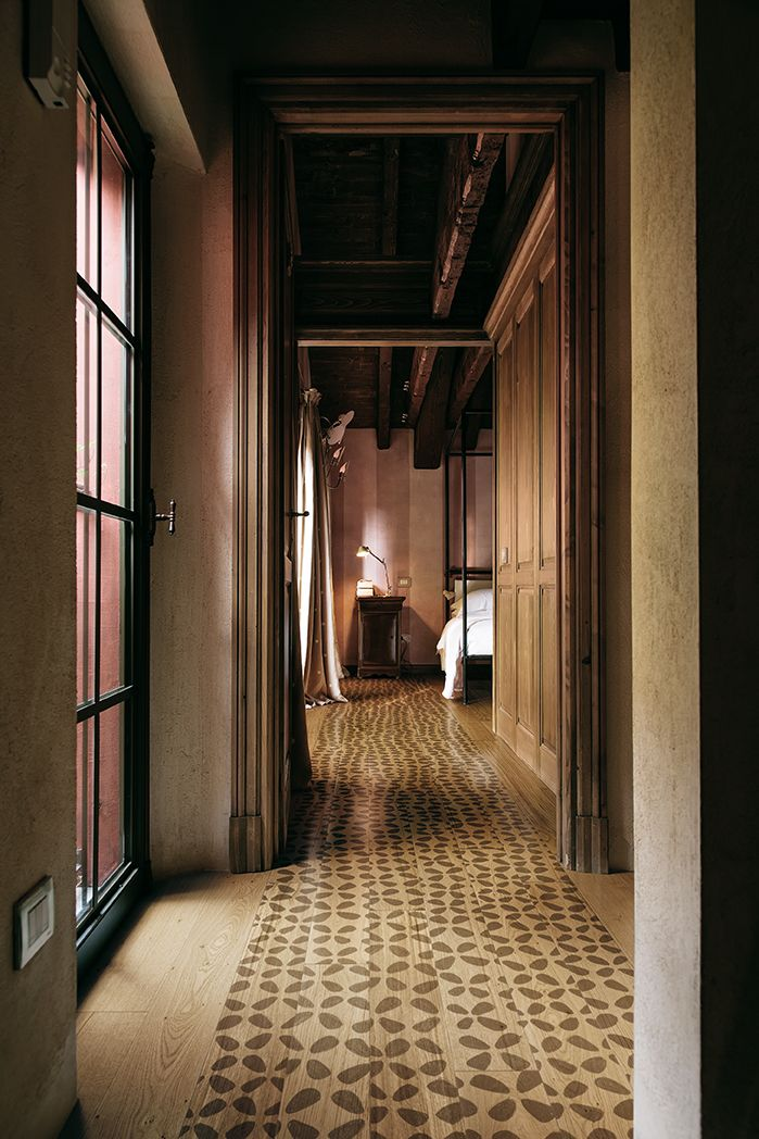 Archipetali, design Nigel Coates for XILO1934 wood floors