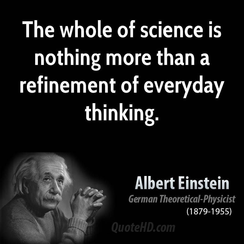 science quotesalbert einstein science quotes quotehd
