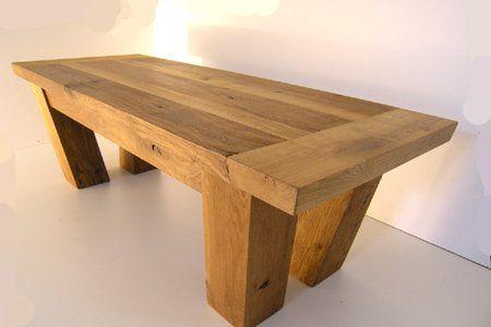 Barn Inspired Oak Coffee Tables, Oak Barn Furniture