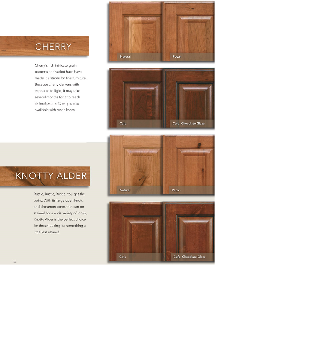 Knotty Hickory Kitchen Cabinets: Knotty Alder With A Cherry Stain - Bing Images