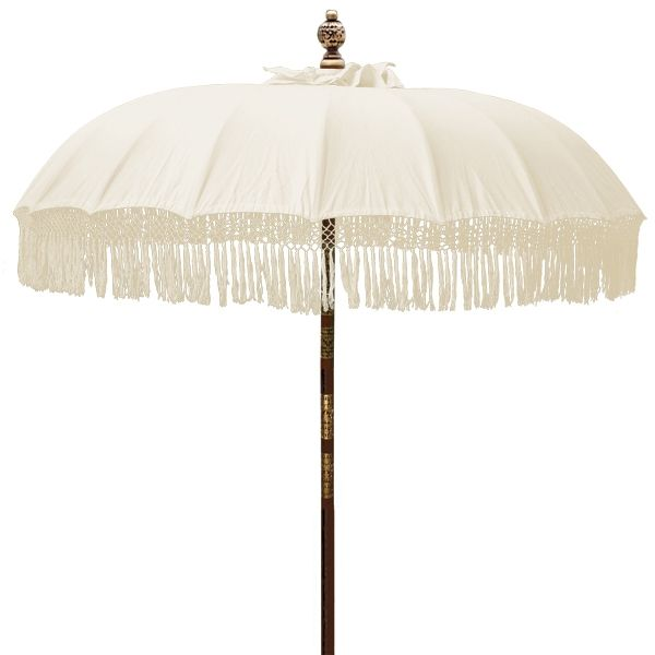 Fringed Patio Umbrella