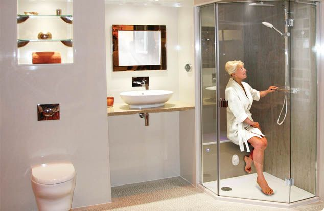 Sit Down Showers For Seniors Bathe Safely
