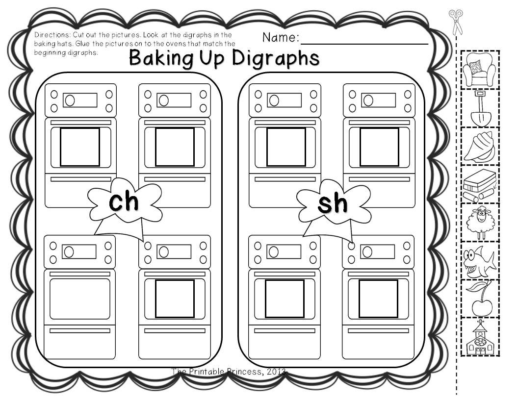 Digraphs {Activities, Centers, and Practice Pages