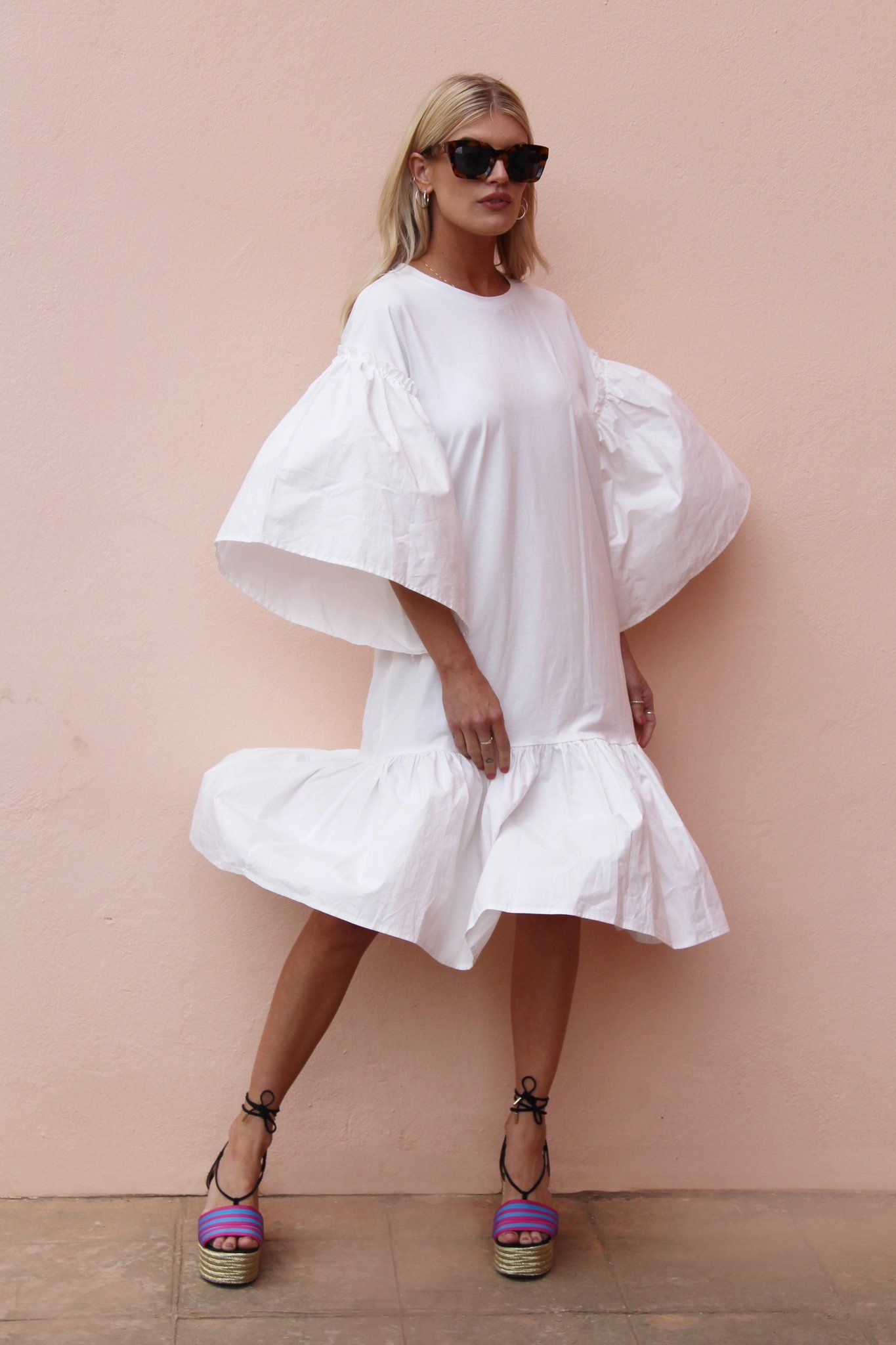 Margot White Never Fully Dressed Little White Dresses Fashion Colourful Outfits
