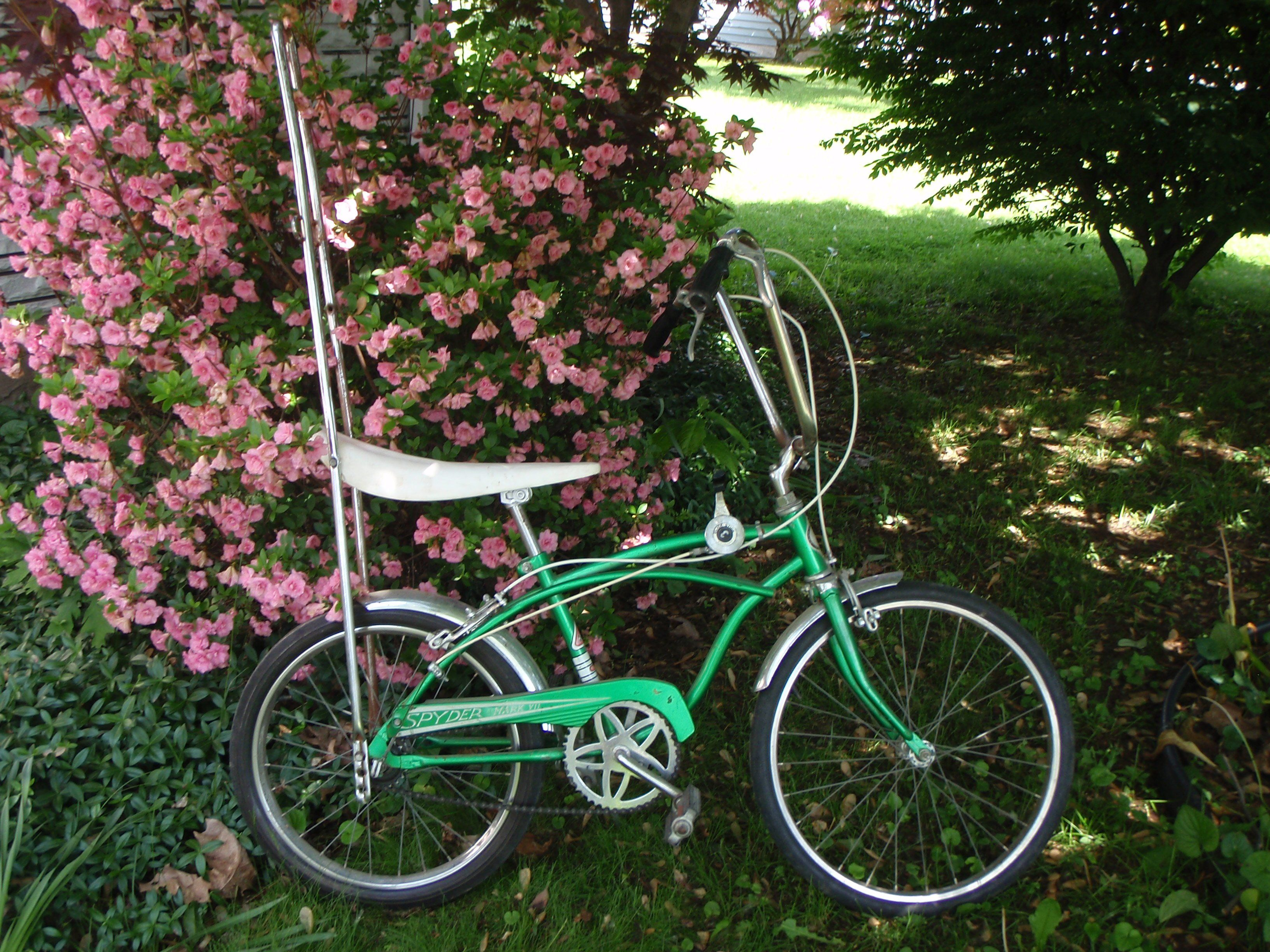 1960 sears bicycle - Boys Sears Spyder Bike With Sissy Bar And Three Speed Shifter
