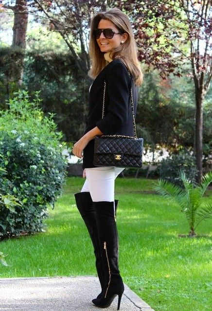 Outfit-With-Over-The-Knees-High-Heels-Boots-7-Most-Desirable ...
