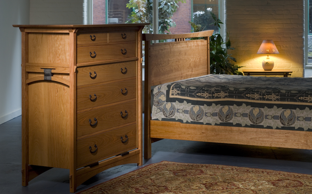 Asian style handmade bedroom furniture|New England furniture makers ...