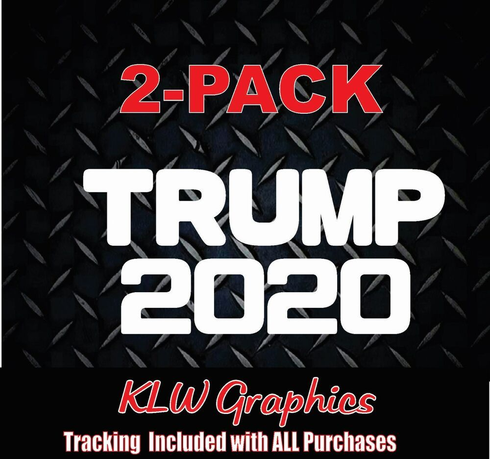 Trump 2020 America Car Window Decal Bumper Sticker President