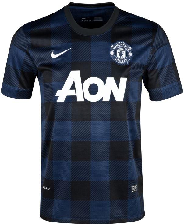 Premier League Shirts - 2013 14 - Manchester Utd Away  554d0ba875dfa