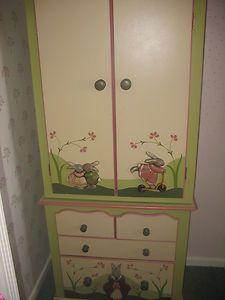 Childrens Bedroom Furniture Set Hand Painted Furniture Pinterest - Painted childrens bedroom furniture