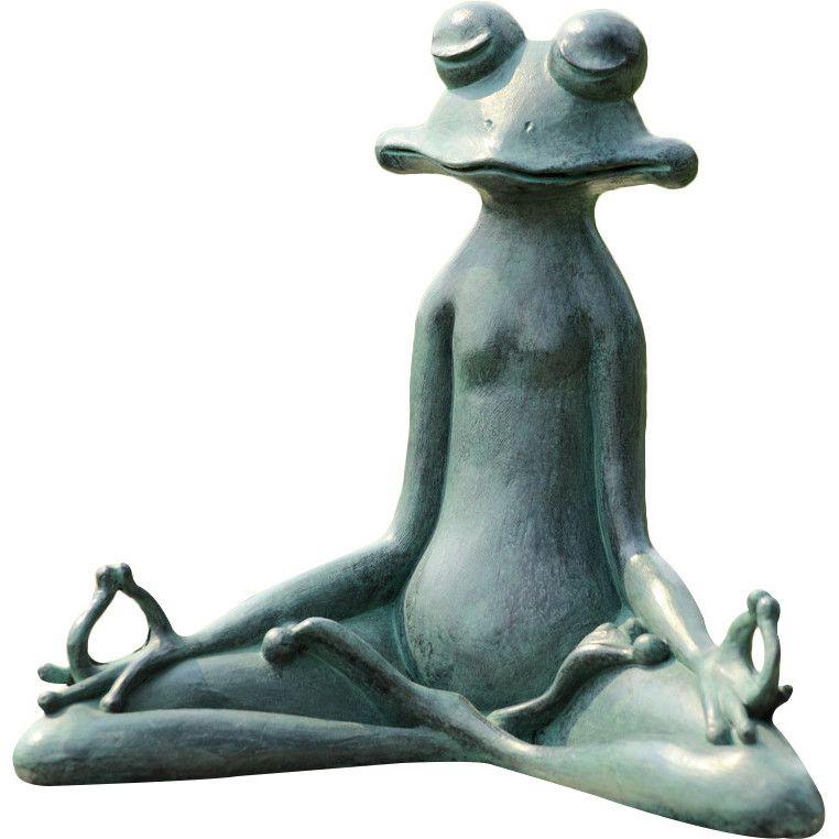 High Quality SPI Home Contented Yoga Frog Garden Statue U0026 Reviews | Wayfair
