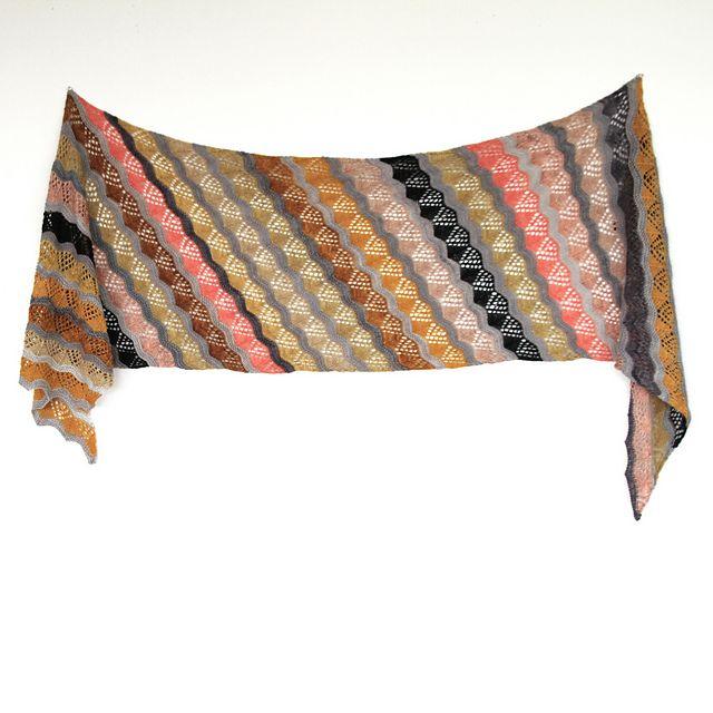 Lamina Wrap pattern by Ambah O\'Brien | I Want To Knit This Someday ...