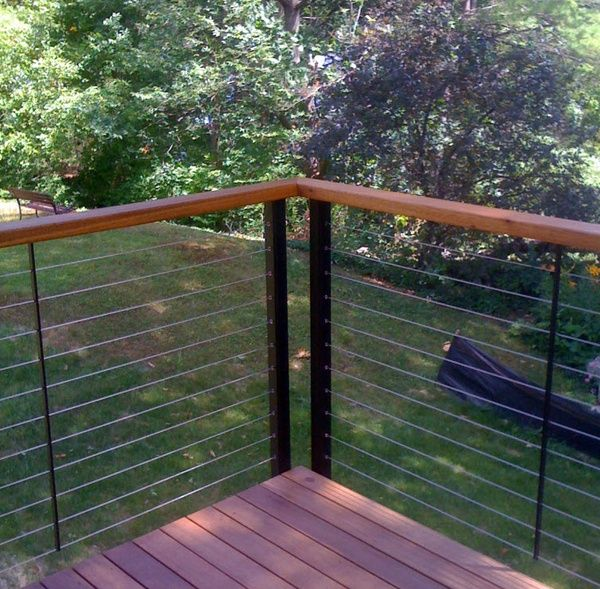 Stainless Steel cable railing system | Patio deck designs ...