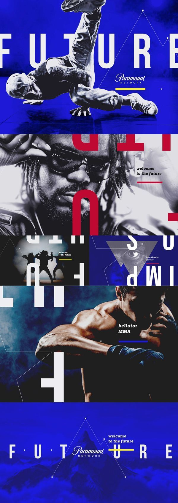 Design trends—Paramount Network needed an engaging and