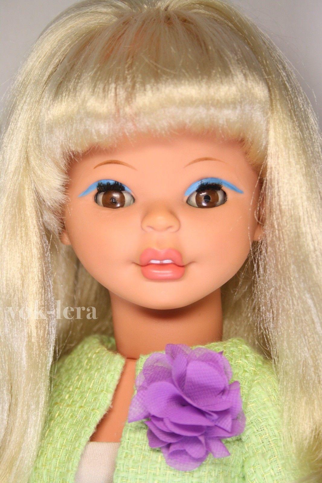 Alte Vintage East Germany Gdr Fashion Doll Ddr Modepuppe Brigitte