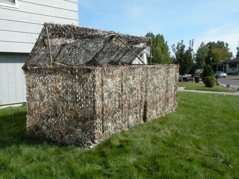 Pvc Duck Blind Build Hunting Duck Blind Hunting