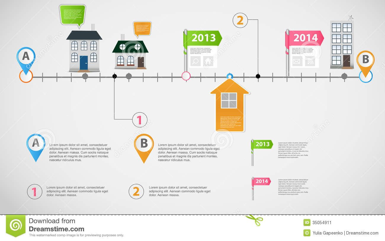 timeline-infographic-business-template-vector-illustration ...