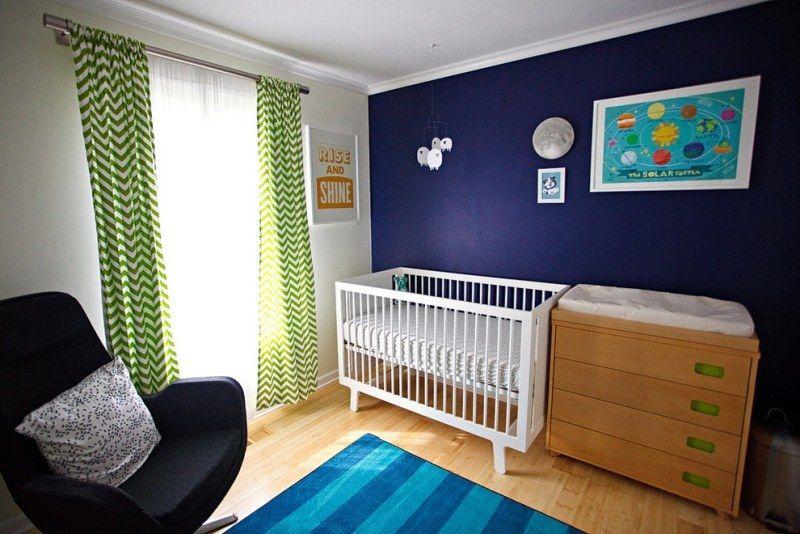Décoration chambre bébé garçon en bleu – 36 idées cool | Bb and Babies