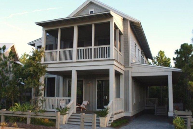 Beach Style House Plan - 4 Beds 45 Baths 2348 Sq/Ft Plan #443-2