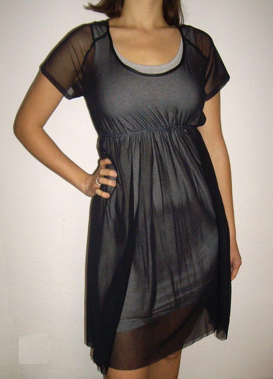 Schnittmuster kleid, sewing pattern dress, longshirt pdf ebook ...