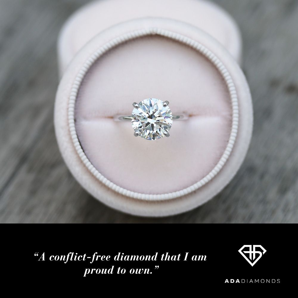 A conflict-free diamond I am proud to own