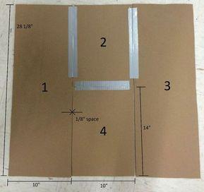 Crease-Mate: a Shirt-folding Board #foldingclothes