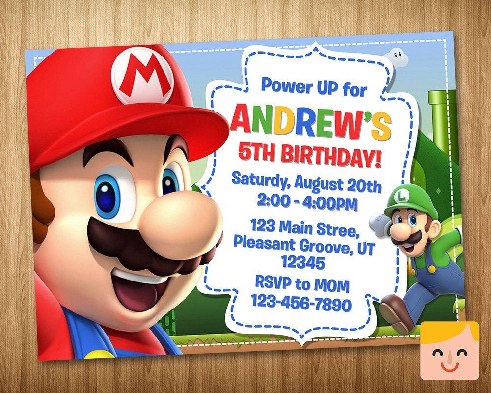 Related image Mario birthday, Super mario birthday