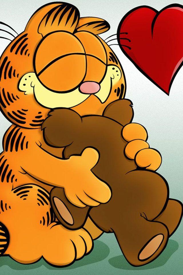 Garfield And Pooky Love Garfield Wallpaper Garfield Cartoon Garfield Pictures