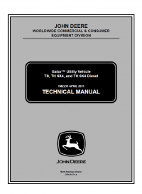 Repair manual john deere gator utility vehicle ts th 6x4 diesel repair manual john deere gator utility vehicle ts th 6x4 diesel technical manual tm 2239 fandeluxe