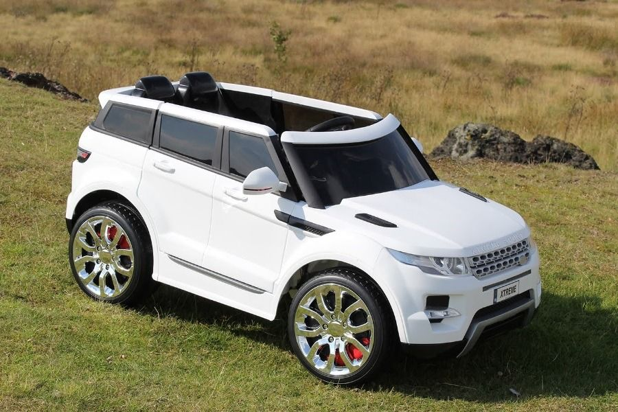 Electric Cars For SchoolAge Kids Range rover hse