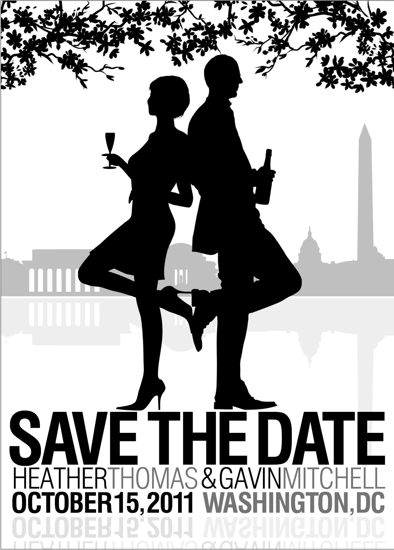 Wedding invitations -DC Spy couple - | Products I Love | Pinterest ...