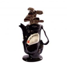 Teapottery - Golf Bag - Black