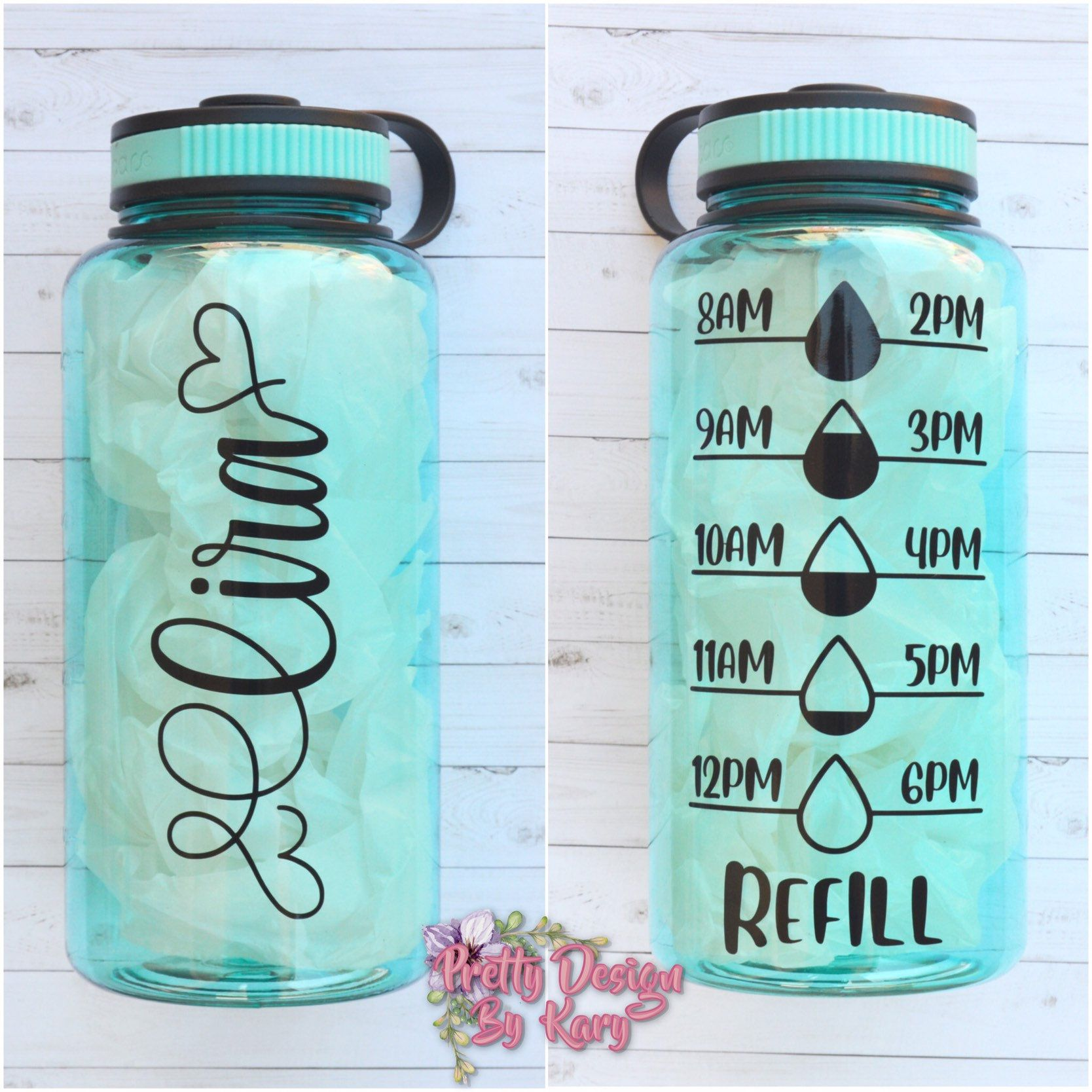 Water Bottle Tracker Motivational Water Bottle Personalized Water Bottle With Hourly Time Tracker Time Stamp Water Custom Tumbler In 2020 Motivational Water Bottle Bottle Water Bottle Tracker
