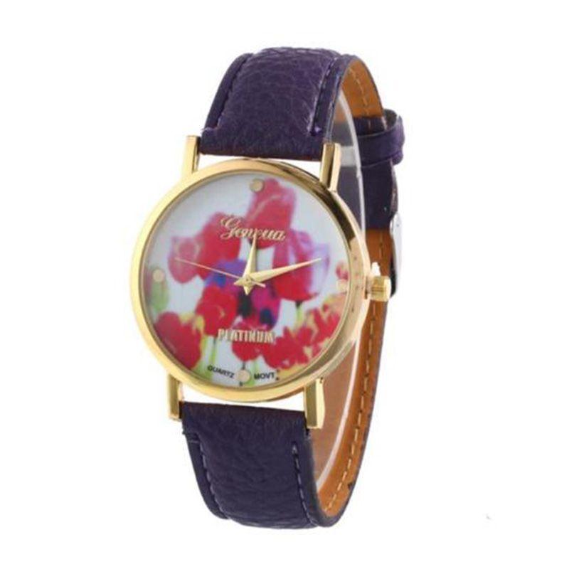 >> Click to Buy << Leather Band Vogue Retro Women's Analog Quartz Leisure Wrist Watches Xmas Gift Colour:Purple #Affiliate