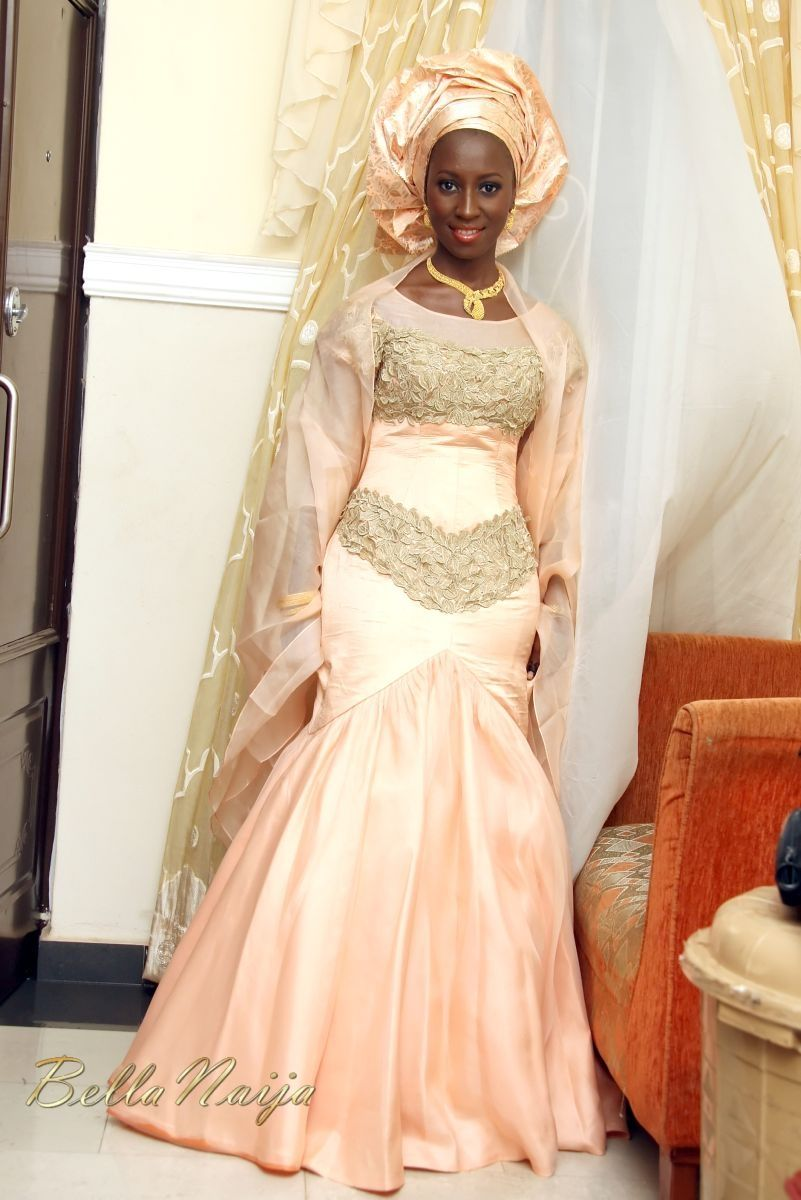 gorgeous!! light peach wedding dress | Multicultural Weddings ...