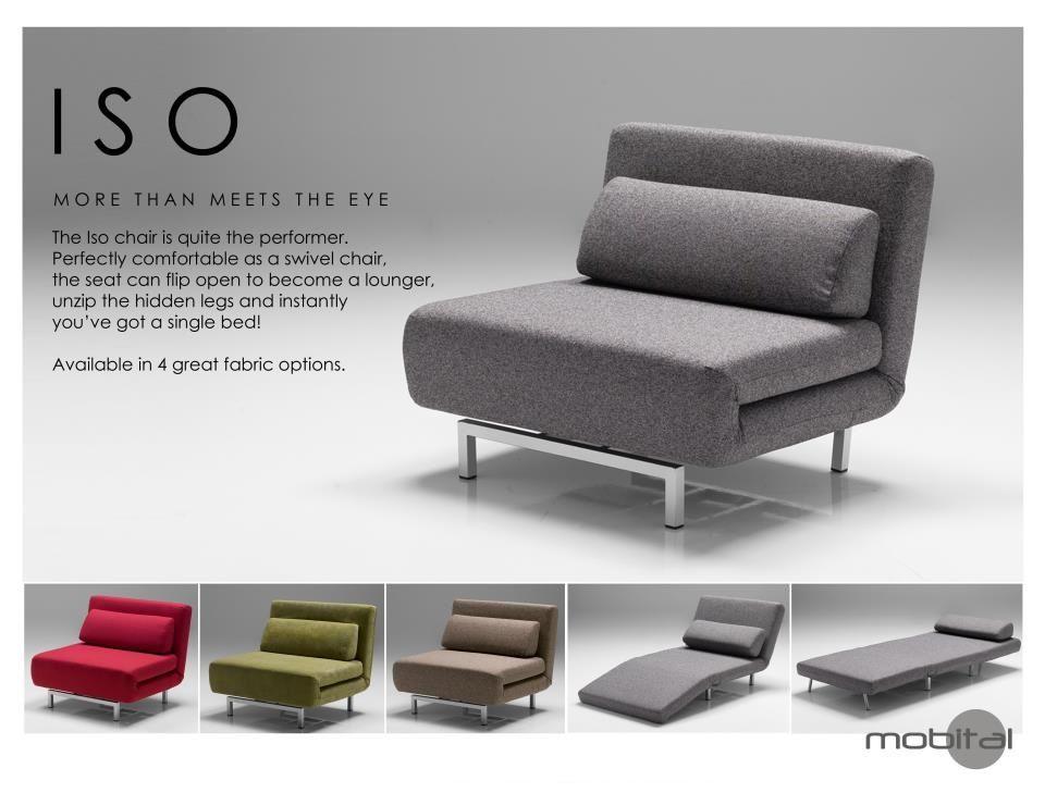 Iso Flip Chair Sofa Bed Home Design Ideas