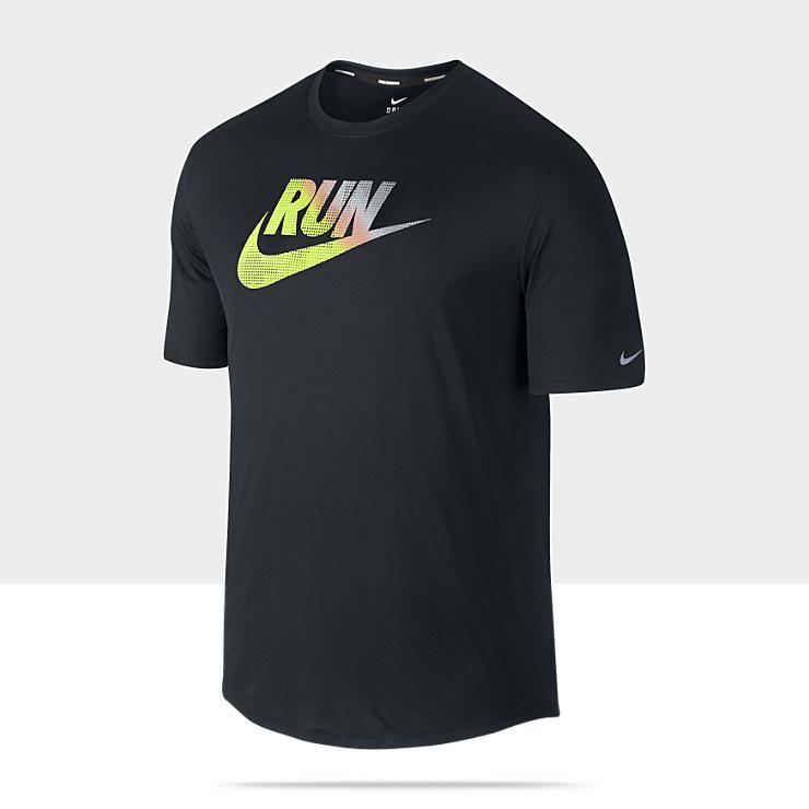 Nike Challenger Swoosh Mens Running Tee