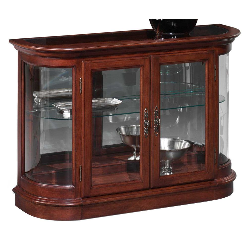 Thomasville Furniture Curio Sofa Table Room Curios Cst 3393 Cherry Traditional 489 00