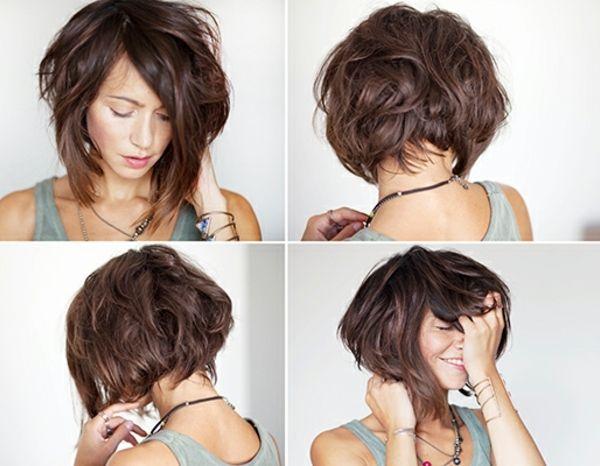 114 magnifiques photos de coiffure courte hair cuts haircuts and short hair - Modele coiffure courte ...