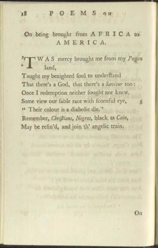 George Washingtonu0027s Letter to Phillis Wheatley, February 28, 1776 - george washington resume