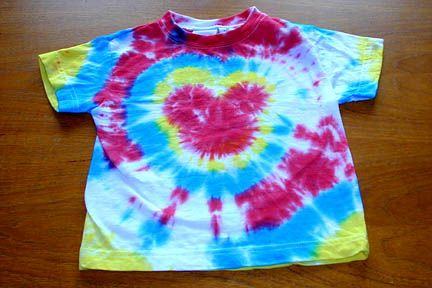 Need Instructions On How To Make Tie Dye T Shirts With Mickey Mouse