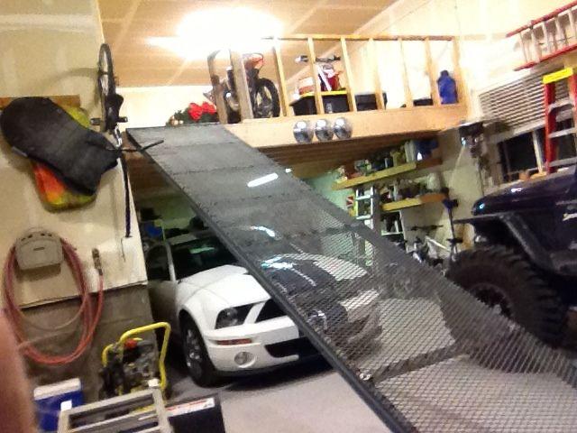 Lift Atv To Loft Google Search Garage Project