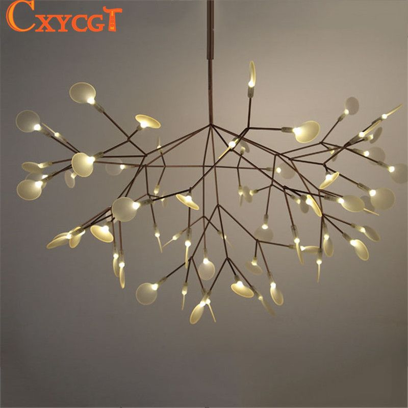 White Tree Branches Chandeliers Modern Suspension Hanging Light ...