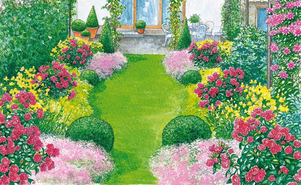 Schmaler Vorgarten Ideen