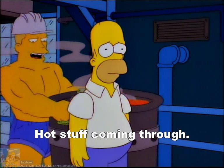 Homer thinks bart is gay