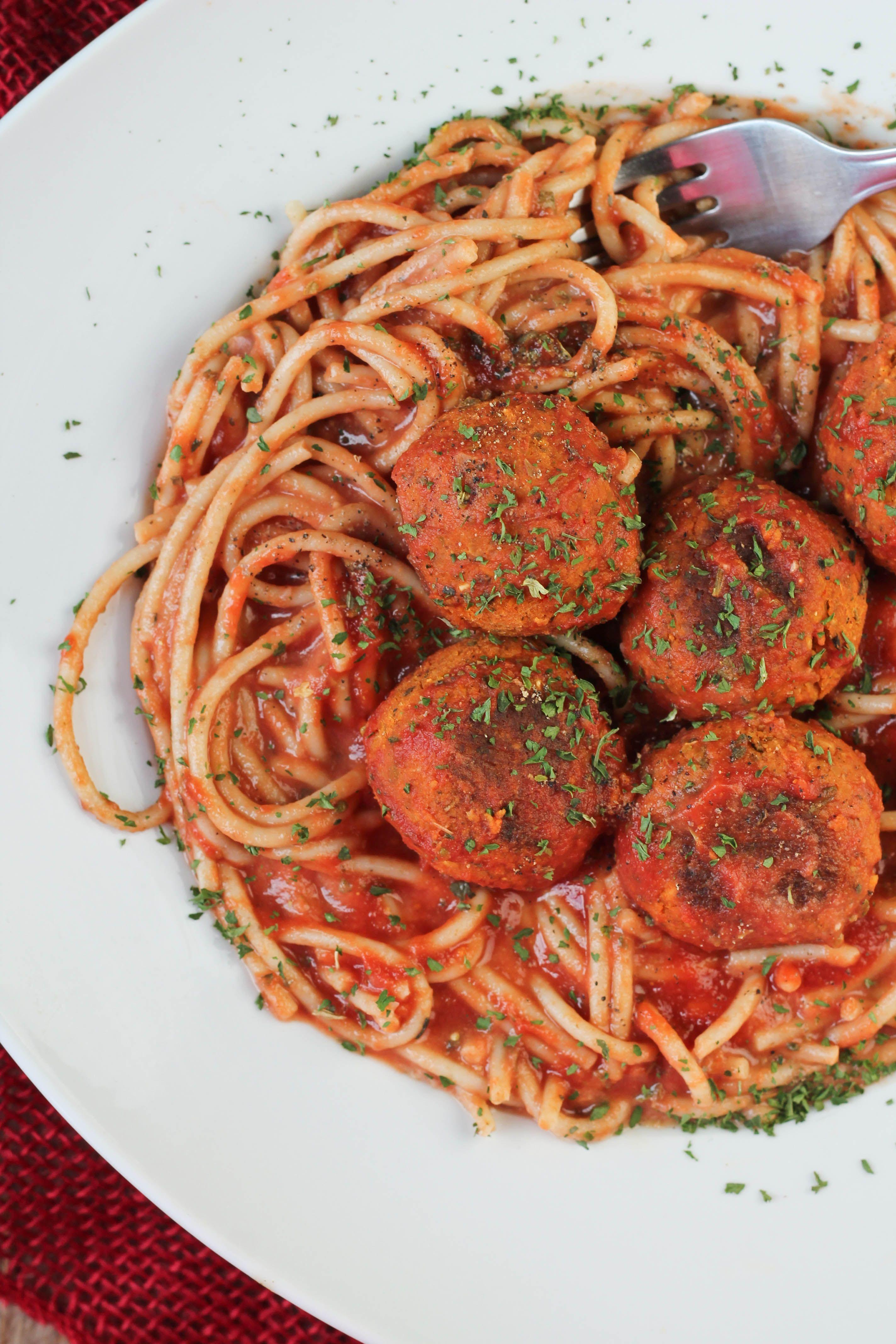 Easy Vegan Meatballs Recipe Vegan Meatballs Vegetarian