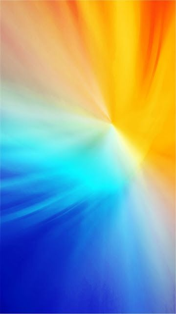Blue And Yellow Gradiant Mobile Wallpaper Mobile Wallpaper